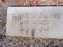 Fannie Eunice <i>Gardner</i> Zachry
