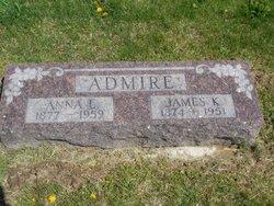James Knox Polk Admire