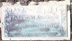 Frances <i>Wright</i> Anderson