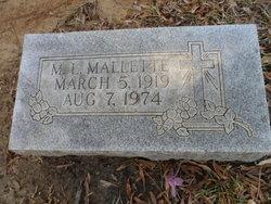 M. L. Mallette