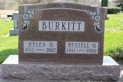 Russell O Burkitt