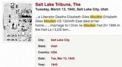 Elizabeth <i>Giles</i> Moulton