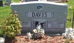 Betty Jean <i>Templin</i> Davis
