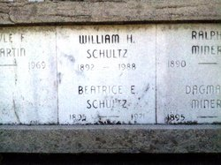 Beatrice Eva <i>Nichol</i> Schultz