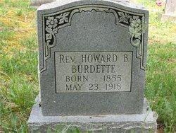 Rev Howard B Burdett