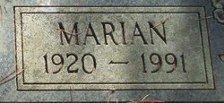 Marian <i>Clark</i> Fields