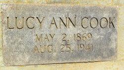 Lucy Ann <i>Hathcock</i> Cook
