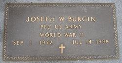 Joseph Walter Burgin