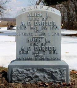 Alice L <i>McCrae</i> Barber