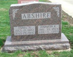 Harmon R Abshire