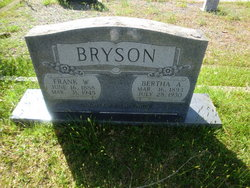 Bertha <i>Austin</i> Bryson