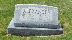 Dunbar M Alexander