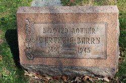 Martha A Barry
