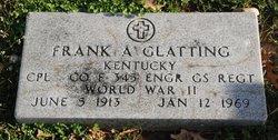 Frank A Glatting
