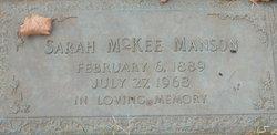 Sarah <i>McGee</i> Mason