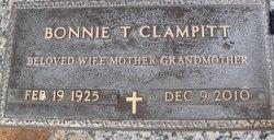 Bonnie T <i>McAninch</i> Clampitt