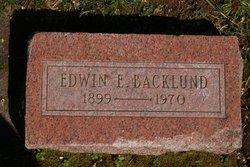 Edwin E Backlund