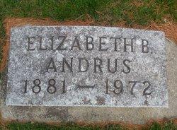 Elizabeth B Andrus