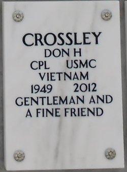 Don Howard Crossley