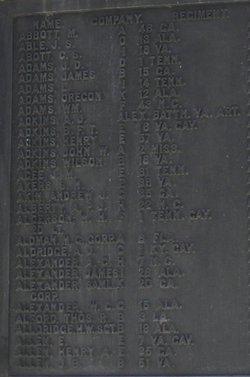 Pvt Charles S. Abbot