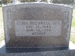 Lydia <i>Bothwell</i> Cox