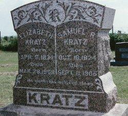 Elizabeth Rosenberger <i>Hunsberger</i> Kratz