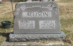 Erastus G Allison