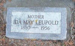 Ida May <i>Schultz</i> Leupold