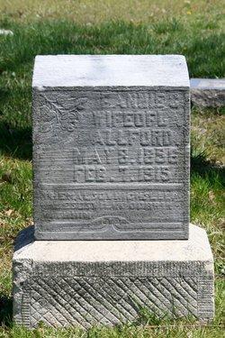 Frances C. Fannie <i>Barrett</i> Allford
