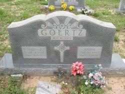 Annie <i>Waneck</i> Goertz