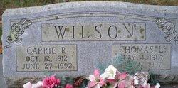 Carrie May <i>Ratliff</i> Wilson