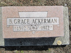 B Grace Ackerman