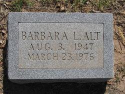 Barbara L. Alt