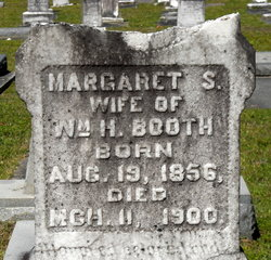 Margaret Sophronia <i>Murray</i> Booth