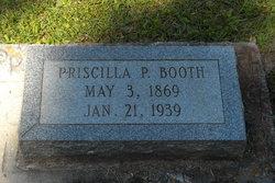 Priscilla <i>Pittman</i> Booth