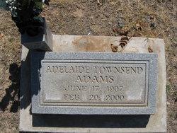 Adelaide Elizabeth Lennon <i>Townsend</i> Adams