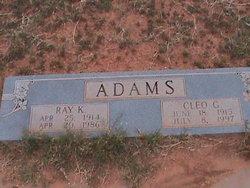 Ray K . Adams