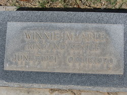 Winnie Marion Able
