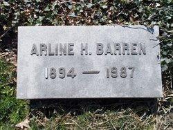 Arline G <i>Higley</i> Barren