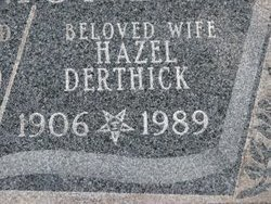 Hazel I. Derthick