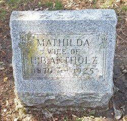 Mathilda <i>Voeltz</i> Antholz