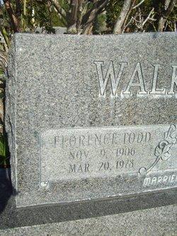 Florence <i>Todd</i> Broadbent