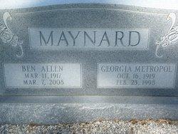 Ben Allen Maynard