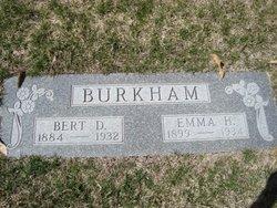 Bert Delmar Burkham
