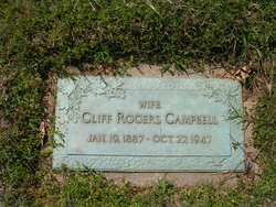 Carrie Clifford Cliff <i>Rogers</i> Campbell