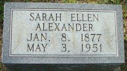Sarah Ellen <i>Doss</i> Alexander