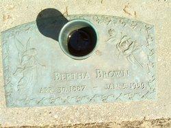 Bertha <i>Kirkland</i> Brown
