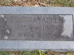 Bertha L. <i>Pounders</i> Allen