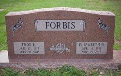 Mary Elizabeth Liz <i>Dennis</i> Forbis