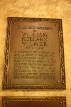 Dr William Holland Wilmer